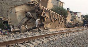 Al menos 5 muertos dejó el descarrilamiento de un tren en Ecatepec