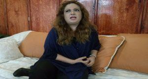 Violeta Lagunes confirma aspiración a la alcaldía de Puebla por Morena. Foto: Especial