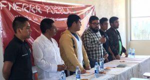 Líder estatal de Fnerrr llama a alumnos de Ajalpan a justicia social