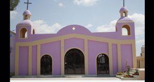 habilitación de salón como capilla en Ixcaquixtla