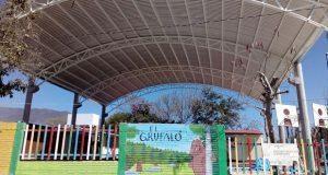 """Entregan techado a jardín de niños """"Justo Sierra"""" en Ajalpan"""