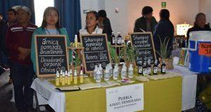 Empresarios sociales de 6 estados exponen productos en Puebla