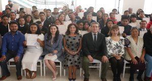 Dinorah López atestigua 100 bodas gratuitas en Puebla. Foto: Especial