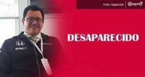 El locutor de Radio Fórmula, Mario Alberto Cañas Luna, fue reportado como desaparecido, pues la última vez que se le vio fue el 16 de febrero. Foto: Especial