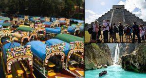 Avanza 3.1% a tasa anual actividad turística en México en 3T de 2017