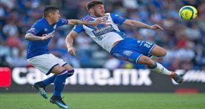 Puebla empata 1-1 con Cruz Azul y por fin suma como visitante. Foto: Especial.