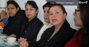"""En rueda de prensa, denunciaron que se encuentran en estado de """"indefensión"""". Foto: Jafet Moz / EsImagen"""