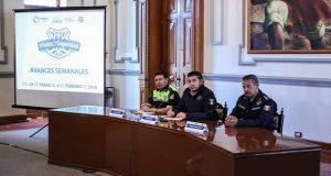 Puebla capital tendrá 75 mdp del Fortaseg para seguridad: Alonso. Foto: Twitter