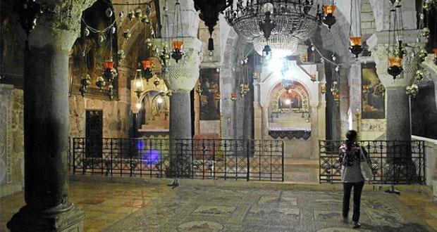 Cierran iglesia Santo Sepulcro por impuesto de gobierno israelí
