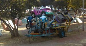 Pese a estar prohibido, hay al menos 12 ambulantes en el Parque Juárez