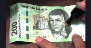 Banxico revela que el billete más falsificado en 2017 fue el de $200
