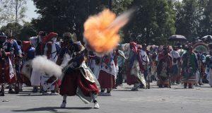 Detienen a 4 carnavaleros por detonar pólvora en lugares prohibidos