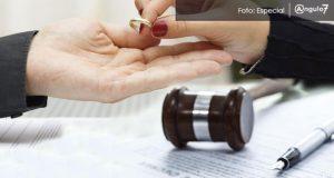 Divorcios en Puebla crecen 157% en 4 años