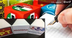 En alianzas electorales, Morena-PT-PES lideran en preferencia