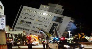 Sismo de 6.4 grados en Taiwán suma 2 muertos y 200 heridos. Foto: El Heraldo de Honduras