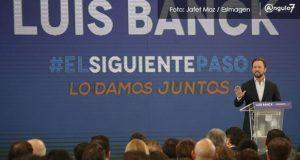 En último informe, Luis Banck resalta logros de Moreno Valle y Gali