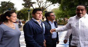 Eduardo Rivera Pérez aseguró que PSI y CPP no lo respaldan para no perder su registro. Foto: EsImágen/Ángel Flores