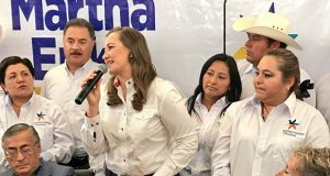 Martha Erika se deslinda de acusaciones de lavado de dinero contra RMV