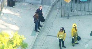 Balacera en secundaría de Los Ángeles deja 2 heridos