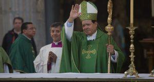 Norberto Rivera da última misa como arzobispo primado de México.