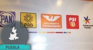 PAN y PRD irían por 13 de los 21 distritos repartidos en colación