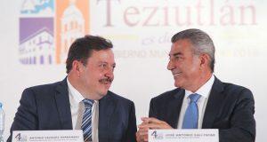 Gobierno estatal coordina acciones de seguridad en Teziutlán: Gali. Foto: Especial