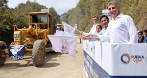 Arrancan pavimentación de carretera Chichiquila-Ahuayacan
