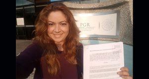 Lagunes denuncia ante la Fepade a columnista por violencia política
