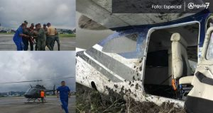 Capturan a 2 mexicanos sobrevivientes a caída de avioneta en Ecuador. Foto: Especial