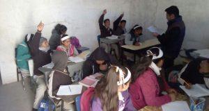 Denuncian a gobierno de Amozoc por no atender carencias educativas