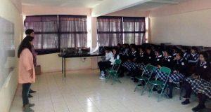 Fnerrr forma comité en bachillerato en Chalchihuapan, Ocoyucan