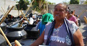 Sagarpa entrega 178 huertos a familias de Ajalpan y Chilac