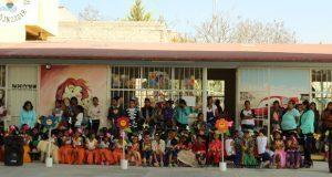 Inauguran techado y aula de cómputo en preescolar de Tehuacán