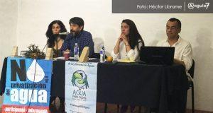 ONGs demandan revocar concesión del agua y exentarla de IVA en Puebla