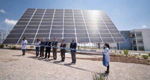 Inauguran seguidor solar en Ecocampus Valsequillo de BUAP