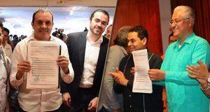 Cuauhtémoc Blanco y exrector de UAEM van por gubernatura de Morelos