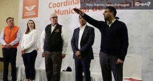 Elías Abaid amarra dirigencia de MC en Puebla y una pluri a San Lázaro