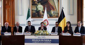 Comuna de Puebla aumenta opciones de comercio con Bélgica