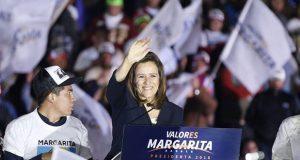 Margarita Zavala inicia campaña denostando a López Obrador