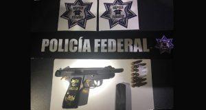 Federales decomisan armas exclusivas del Ejército en Zacatlán