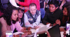 Ricardo Anaya inicia campaña con un maratón de 12 horas