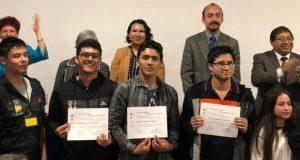 Alumnos del Cobaep consigue 1° y 3° lugar en olimpiada de química