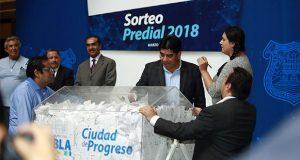 Comuna de Puebla anuncia a 5 ganadores del Sorteo Predial 2018