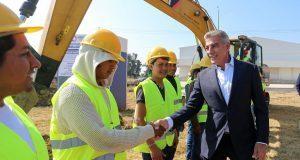 Invierten 40 mdp en alcantarillado de parque industrial Ciudad Textil