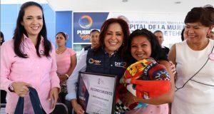 En Puebla se valora aportación de las mujeres, destaca Dinorah López