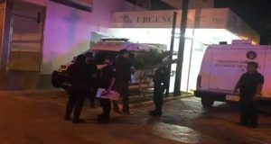 Ejecutan a presunto narcotraficante y pareja en hospital de Cancún. Foto: Macrix Noticias.