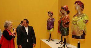 La diseñadora María Luisa D'Chavez presenta su exposición en el MIB