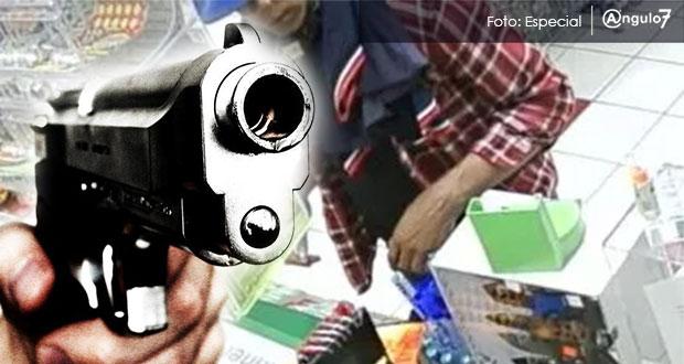 Aumento del 25 por ciento en robos a comercios de Puebla durante enero
