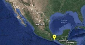 No deja de temblar en Oaxaca, esta vez fue en Salina Cruz, con magnitud 4.4. Foto: SSN