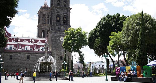 Partidos deben pedir autorización para eventos en zócalo de Puebla